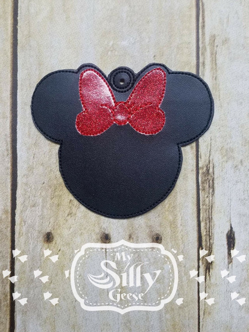Ornament Girl Mouse