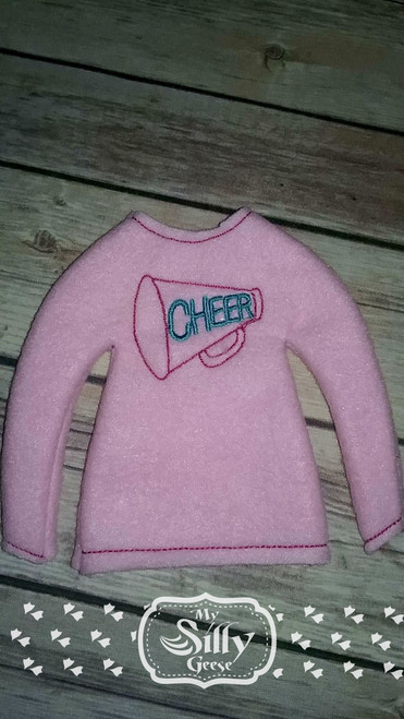 5x7 Elf Sweater Rounded Cheer