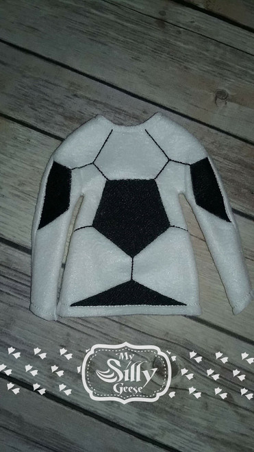 5x7 Elf Sweater Rounded Soccer