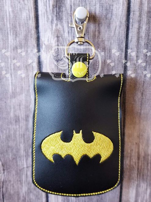 5x7 Sanitizer Case Bat Hero