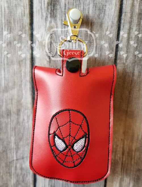 5x7 Sanitizer Case Spider Hero