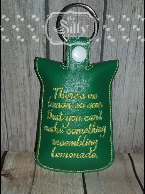5x7 Sanitizer Case Lemons