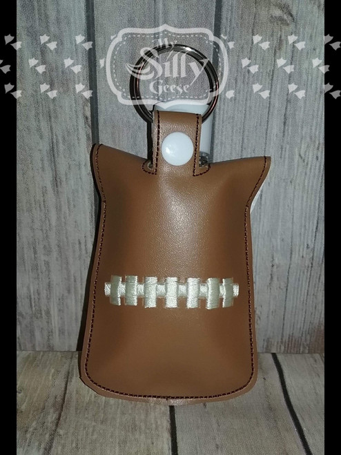 5x7 Sanitizer Case Football