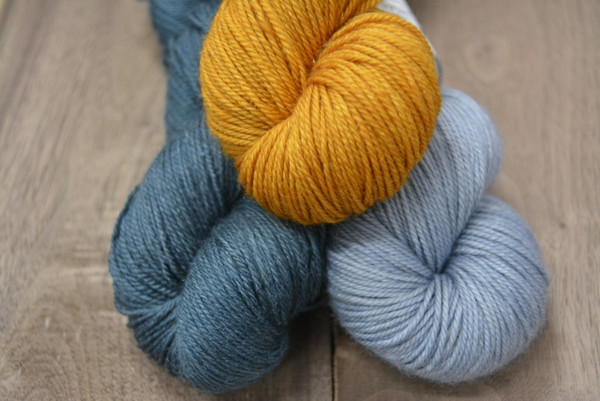 Quicksilver Kit -- Stormy, Waterfalls and Golden Harvest MCN Fingering
