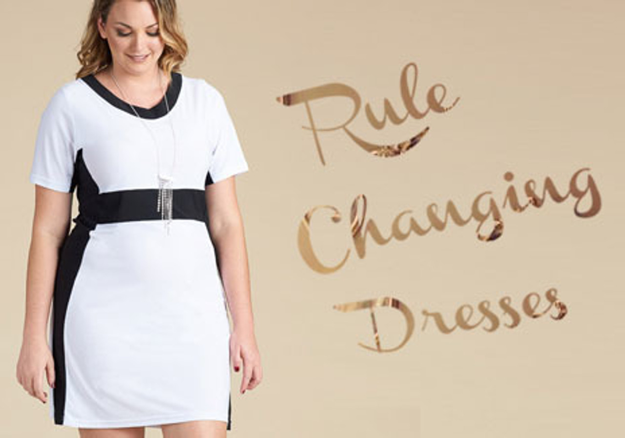 fashionable plus size dresses