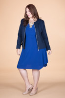 Out For the Night Party Dress - Cobalt Blue