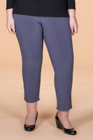 All Buttoned Up Legging - Grey