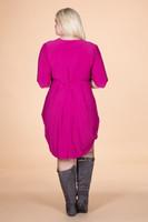 That's a Wrap Dress - Light Fucshia