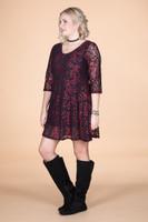 Amazing Things Can Happen Dress - Glitter Paisley Print