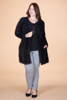 She Wolf Cardigan - Black