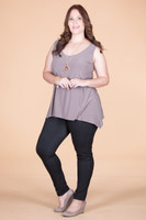 Style Setter Lux Tank - Taupe
