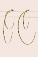 Layer Hoop Earrings - Gold