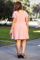 Better Than Ordinary Blouson Dress - Rosa
