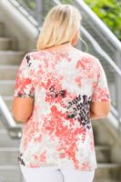 Basic But Never Boring Short Sleeve Shirt - Pressed Flowers Print