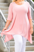 Your Best Foot Forward Tunic - Rosa