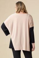 Easy Breezy Drop Shoulder Tunic - Stone