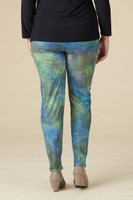 Instant Favorite Legging - Galaxy Faux Leather Print