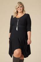 Always Adorable Dress - Black