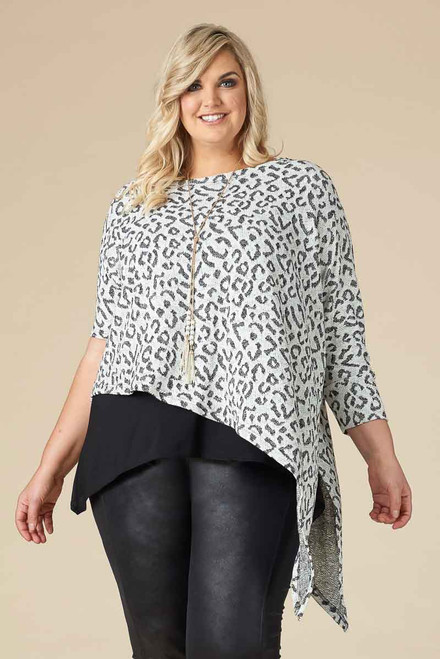 Starring Role Poncho - Diva Print