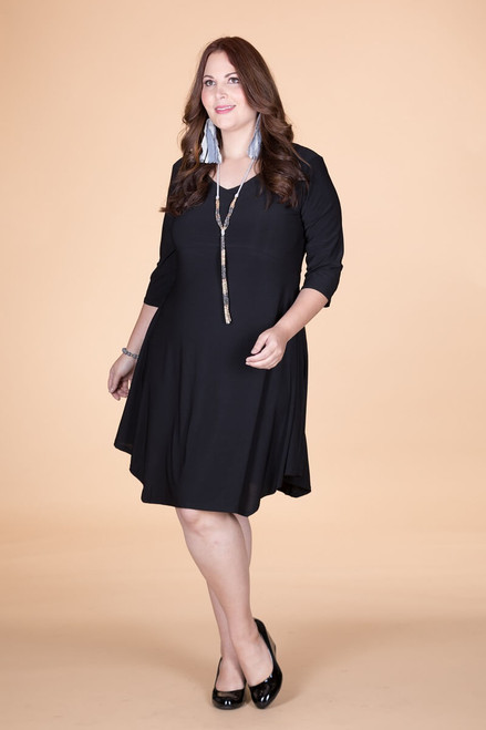 Out For the Night Party Dress - Black