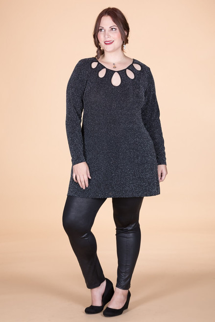 Count on Me Tunic - Glitter