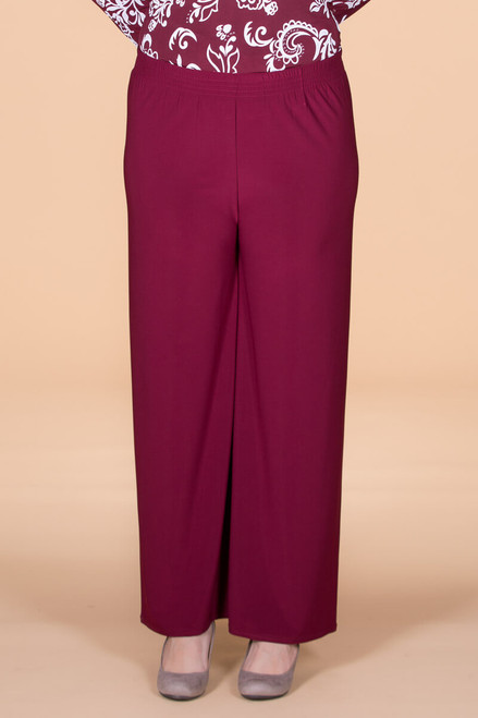 Boulevard of Dreams Pants - Wine