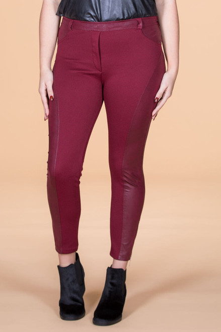 Seize The Day Leggings - Red