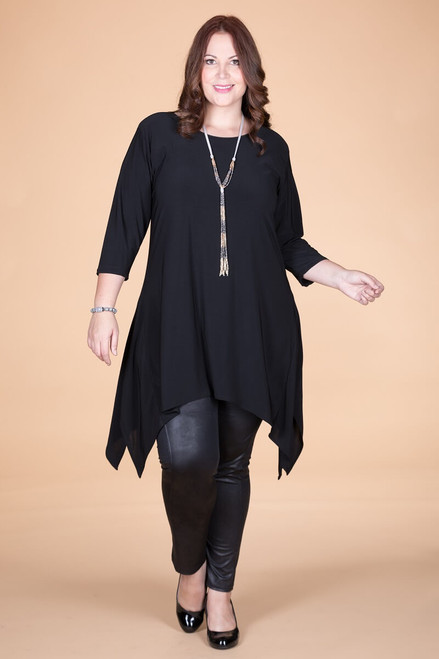 Your Best Foot Forward Tunic - Black
