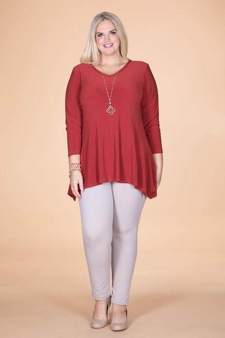 Always Ready Tunic  - Rust