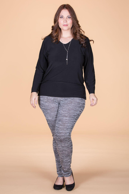 Instant Favorite Legging - Mixed Grey Print