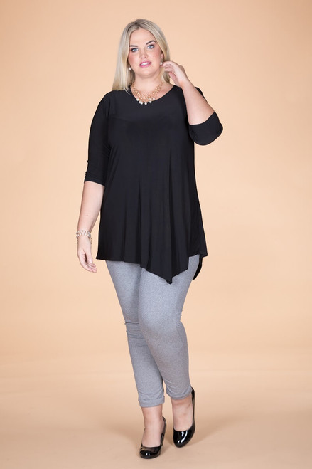 Say it Out Loud Tunic - Black