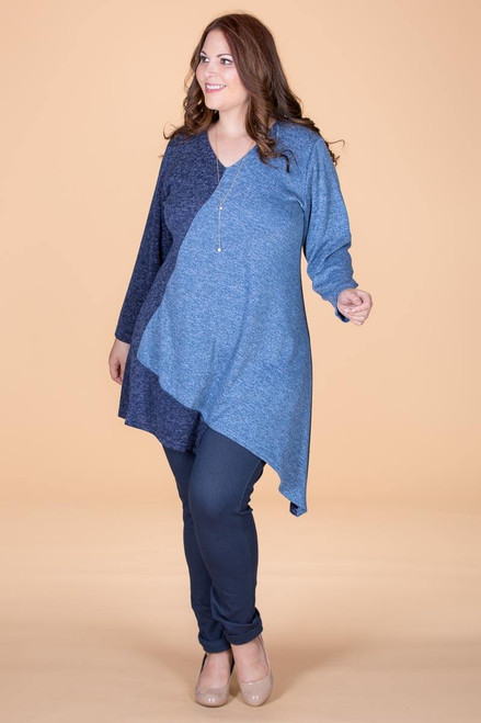 On the Bias Tunic - Sky