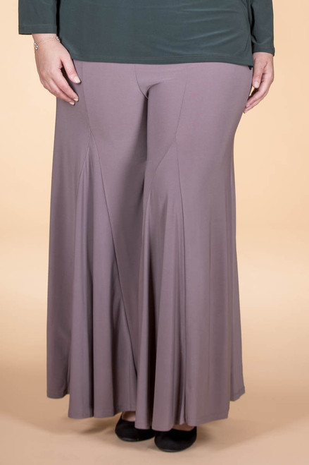 Swing Time Palazzo Pants - Taupe
