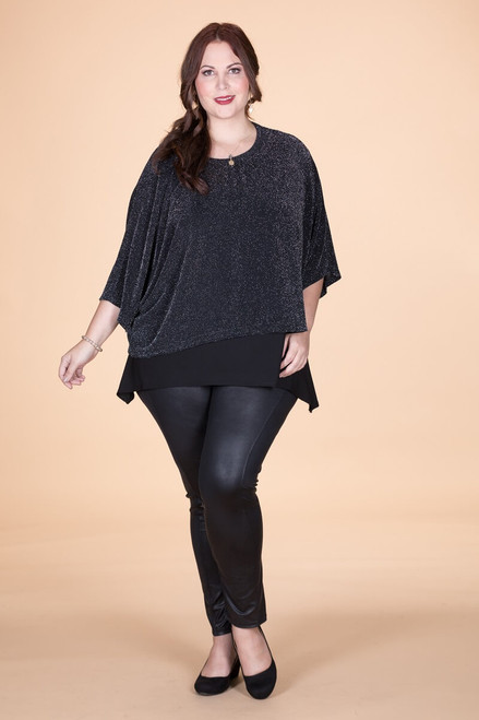 Transformative Sparkle Layering Top - Glitter