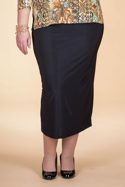 Not Just for Special Occasions Long Skirt - Black