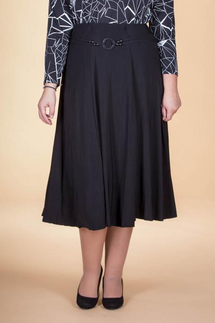 No Time Like the Present Skirt - Black