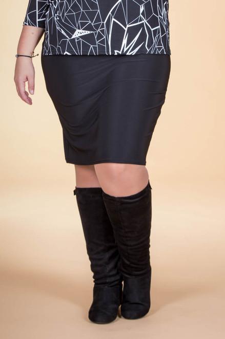 Fashionista Short Skirt - Black