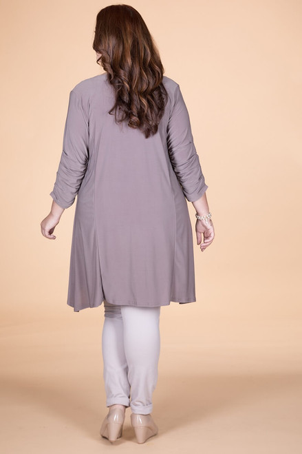 The Swing of Things Jacket - Taupe
