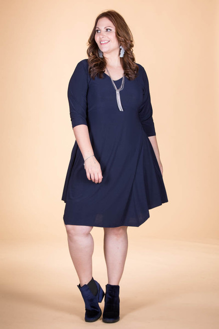 Out For the Night Party Dress - Blue