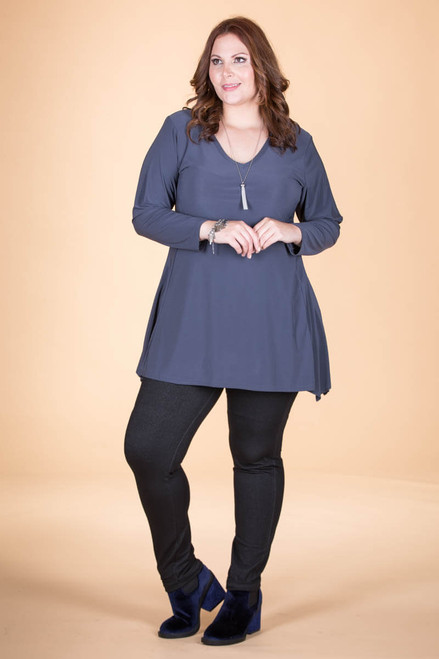 Always Ready Tunic  - Grey