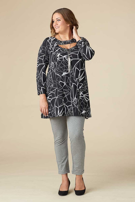 Fly Away Tunic – Lightning Print