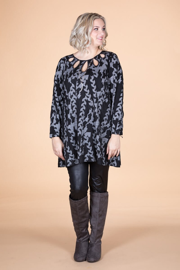Count on Me Tunic - Jagged Arrow Print