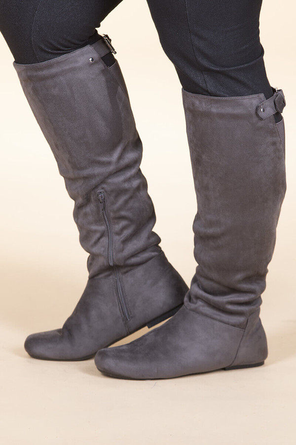 Super Soft Suede – Charcoal
