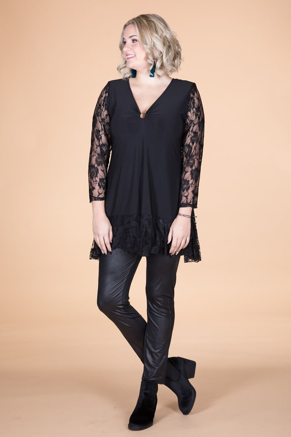 Decisions, Decisions Tunic - Black