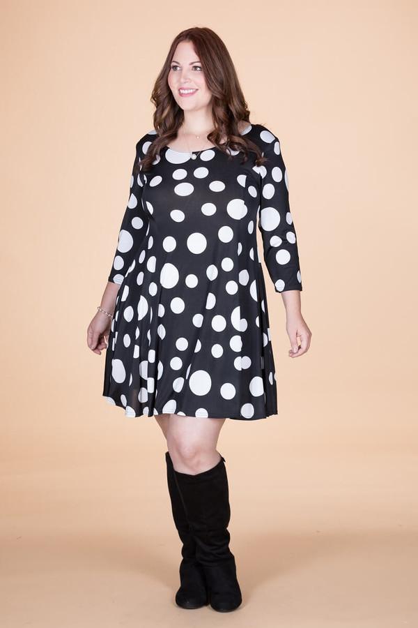 Work Hard, Play Hard Dress - Seeing Spots Print