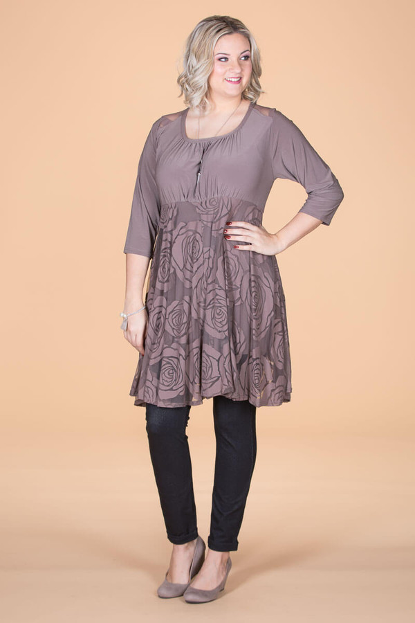 Baby Girl's Favorite Tunic - Taupe