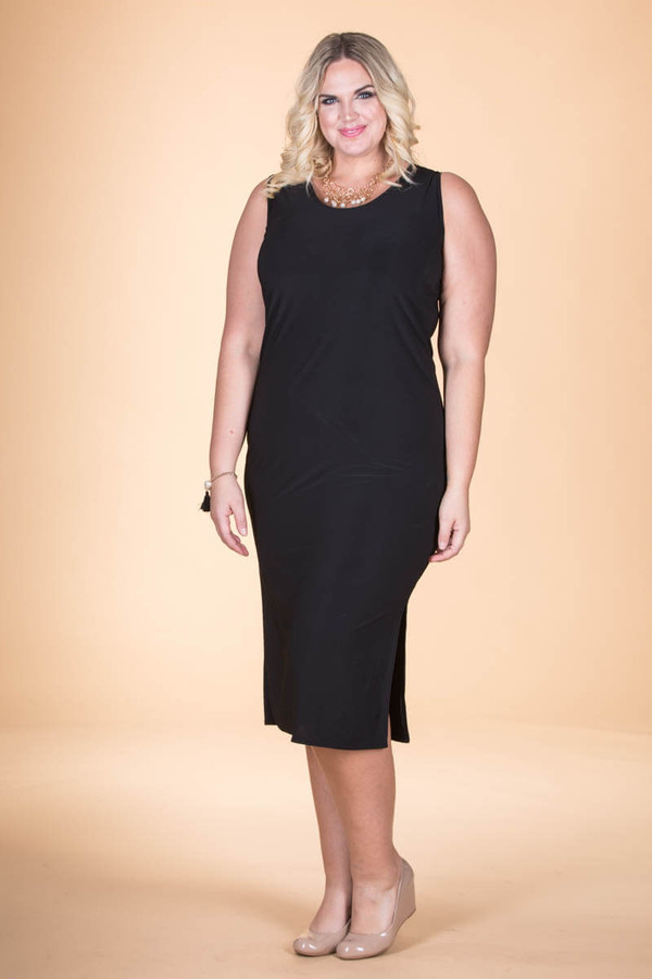 Black Plus Size Sheath Dress Shop Cute Little Black Dresses