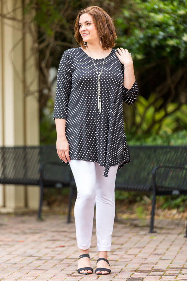 Say it Out Loud Tunic - Spots