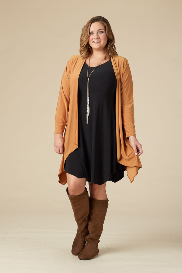 Saturday Morning Open Front Cardigan - Oaker