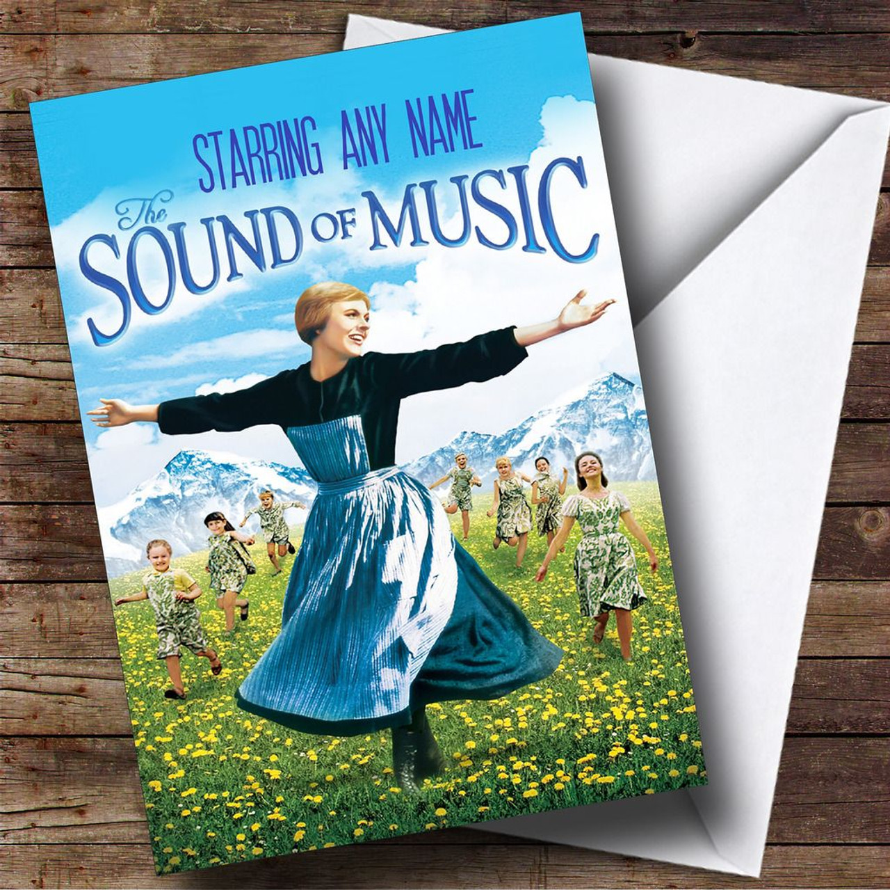 Spoof The Sound Of Music Movie Film Poster Personalised